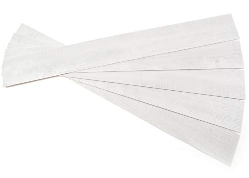 ROSEROSA Peel and Stick Engineered Polypropylene Planks Safety & Abrasion Resistance Sunnyside Pine Durable Flooring (ECK-703 : 5 Planks)