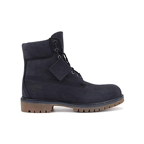 (Timberland Men's 6 inch Premium Boot (7.5 D(M) US, Navy Monochrome))
