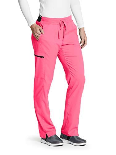 Grey's Anatomy GRSP500 Cargo Pant - Spandex Stretch Pink Pop S