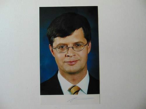 Unbranded Prime Minister Netherlands Jan Peter Balkenende Signed 5X8.5 Photo Mueller COA