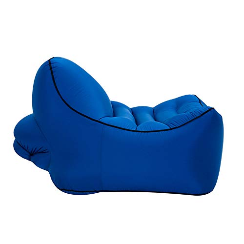 Amazon.com: LOCYOP Silla de aire: Tumbona inflable ligera de ...