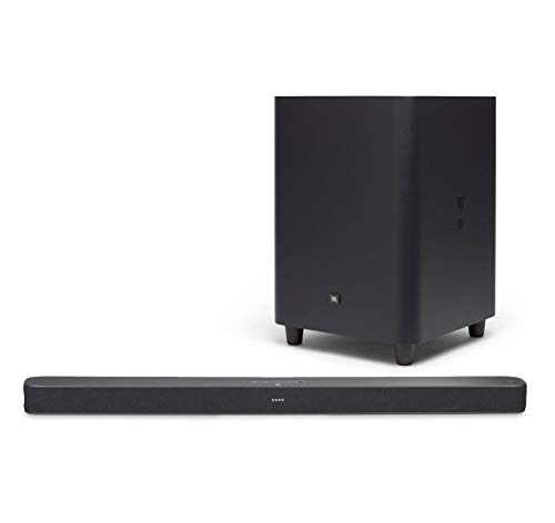 JBL Link Bar Voice-Activated Smart Soundbar Bundle with JBL SW10 10