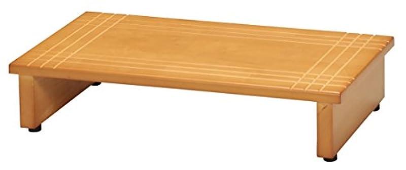 나가이 코우산 목제 현관 발판90 폭90×(길이)깊이35×높이13.2cm adjuster 부착NK-935