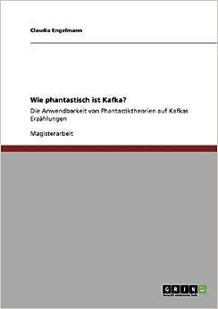 Wie phantastisch ist Kafka? (German Edition)