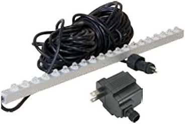 """ProEco WHITE LED 23"""" inch Weir Light Strips for Waterfall Spillways"""