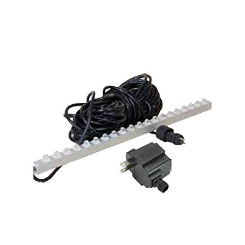 ProEco WHITE LED 23'' inch Weir Light Strips for Waterfall Spillways