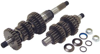 V-Factor 72740 Speed Transmission Gear Set With Shaft For Big Twin