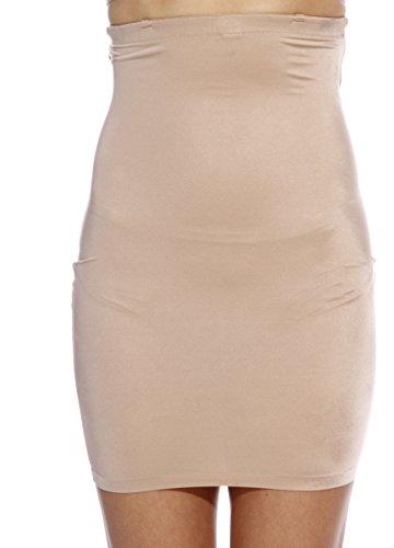32008-ND-C-CS-XL Christian Siriano New York High Waist Half Slip Shapewear for Women