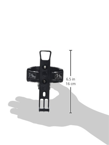Trinkflaschenhalter Schwarz 340950 0,5-1 Litro Negro M-Wave 340950.0 Portabid/ón Nylon