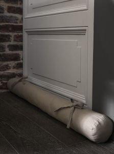 Centpourcentcoton - Cojín burlete (90 x 10 cm), color beige ...
