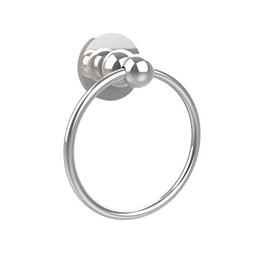 - Allied Brass BL-16-PC Bolero Collection Towel Ring Polished Chrome