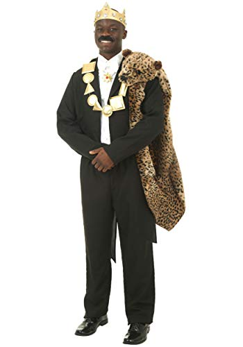 Coming To America Halloween Costume (Plus Size Coming to America Akeem Costume 2X)