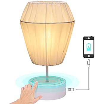 keymit touch bedroom lamps minimalist table bedside lamp 7 9 d 13 4 h with 1 usb charging port. Black Bedroom Furniture Sets. Home Design Ideas