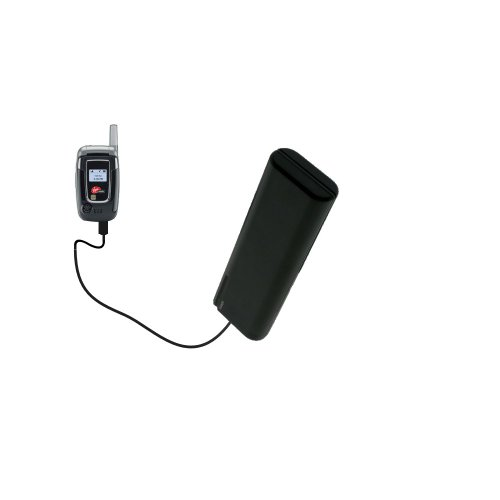(Gomadic Portable AA Battery Pack designed for the Audiovox Snapper 8915 - Powered by 4 X AA Batteries to provide Emergency charge. Built using TipExchange Technology)
