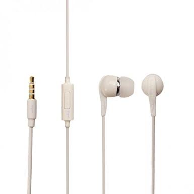 b8e2d9c6e8b Original Samsung Headset in White for Galaxy J1 J100H In-Ear Headphones  In-Ear Earphones 3.5 mm Plug Bulk verpackt: Amazon.co.uk: Electronics