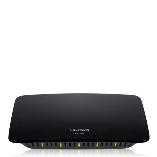 Linksys SE1500 5-Port 10/100Mbps Desktop Switch - (Certified Refurbished)