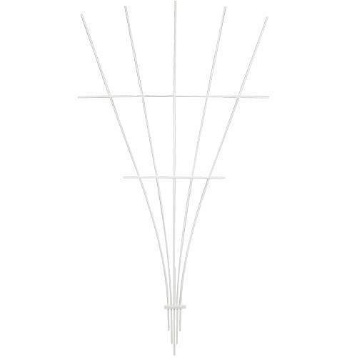 Fiberglass Fan Trellis, 5-foot (Green) by A.M. Leonard (Image #1)