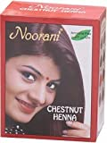 Noorani Henna Based Hair Color and Herbal Powder in USA | Ships from California (10 ( 60 Pouch x 10g ), CHESTNUT HENNA)