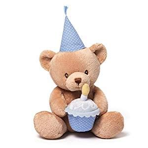 GUND Baby Animated Stuffed Animal, Happy Birthday Talking Bear from GUND