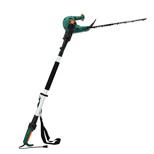 (DOEWORKS Corded 3 in 1 Pole Hedge Trimmer with 6 Angle Rotating Handle, 20