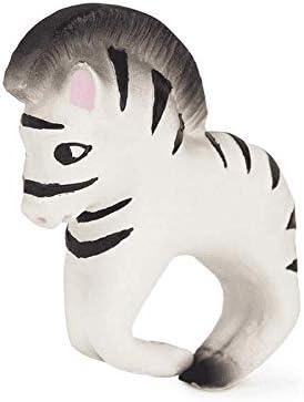 Zoe The Zebra Black Oli /& Carol Chewable Bracelet