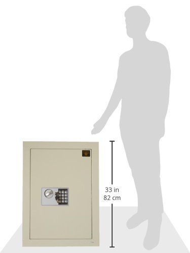 Paragon Safes Flat Electronic Hidden Wall Safe For Large