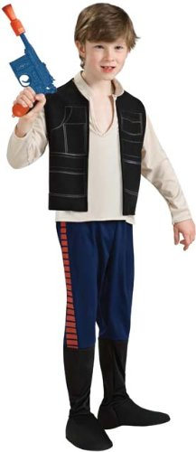 Childs Deluxe Han Solo Costume Youth - Small (Han Solo Girl Costumes)