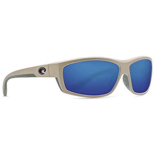 Costa Saltbreak Nylon Frame Blue Mirror Glass Lens Unisex Sunglasses BK248OBMGLP ()