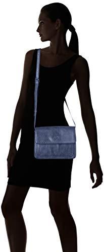 Azul Bolso Nuit Des Dj21 Cerises Ltc3v69 Temps bleu De Mujer Bandolera Poliuretano Le SqazIU6n