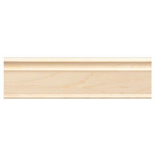 - Brown Wood Inc. 01807000CH1 Full Create-A-Crown Plain Wood Molding, Cherry