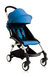 Babyzen YOYO Stroller - White - Blue by Baby Zen
