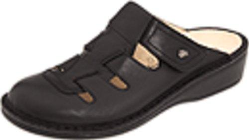 Finn Comfort Women's Java Slip-on Clog,Black Nappa,41 EU (US Women's 10 M) by Finn Comfort