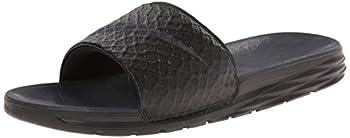 Nike Men's Benassi Solarsoft Slide Sandal, Blackanthracite, 10 D(m) Us 0