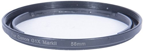Bower ACGM258 Canon G1X Mark II 58 mm Adapter Tube (Black) from Bower