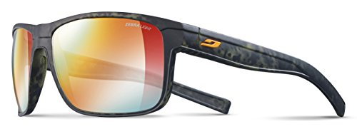Julbo Renegade Sunglasses - Zebra Light - Camo Green/Orange