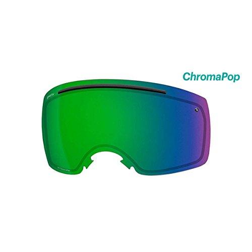 Smith I/O7 Replacement Lens- ChromaPop I/O7 / Everyday Green Mirror 23% VLT by Smith Optics