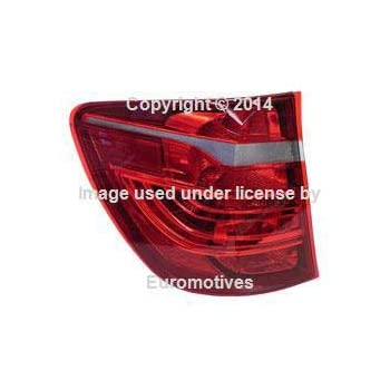 w// Xenon Taillight for Fender Left Outer tail lamp light rear Genuine BMW F25