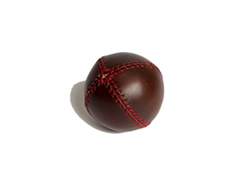 Baseball Peel Lemon (Lemon Ball Baseball. Brown Horween Chromexcel Leather, Red Stitch Lb-Cxl-Red)