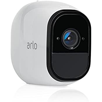 Arlo Pro by NETGEAR Add-on Security Camera – Add-on Rechargeable Wire-Free HD Camera with Audio, Indoor/Outdoor (VMC4030) [Existing Arlo System required]