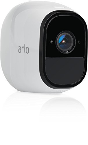 Arlo Pro by NETGEAR Add-on Security Camera – Add-on Rechargeable Wire-Free HD Camera with Audio, Indoor/Outdoor, Night Vision (VMC4030) [Existing Arlo System required] by NETGEAR