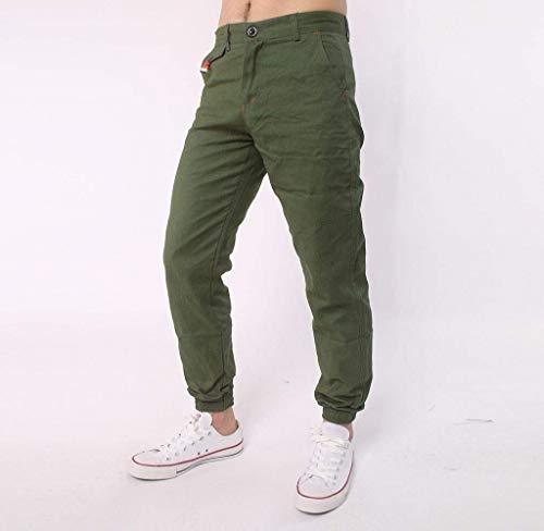 Abbigliamento Armeegrün Da Sportivi Comodi E Uomo Adelina Larghi Jogging Pantaloni Harem Casual 41wn0PB