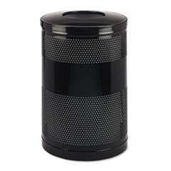 51-Gal Open Top Round Receptacle