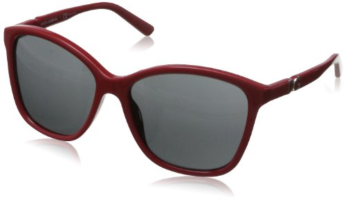 D&G Dolce & Gabbana Women's Iconic Logo Square Sunglasses,Red,57 - D&g Sunglasses Red