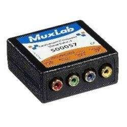 MuxLab - 500057 - MuxLab VideoEase Component-Composite Video Balun F by Muxlab (Image #1)