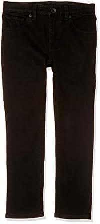 Volcom Little Boys' 2 X 4 Jeans Youth, Blackout, 2T