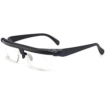 718ee7628 Hacloser Adjustable Strength Lens Reading Myopia Glasses Eyewear Variable  Focus Vision Eyeglass