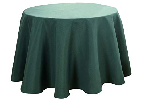 Biscaynebay Fabric Table Cloths, Oil and Water Resistant Spill Proof Solid Color Tablecloths for Dining, Kitchen, Wedding and Parties (70