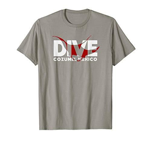 DIVE Cozumel Mexico SCUBA DIVING Diver Manta Ray T-Shirt