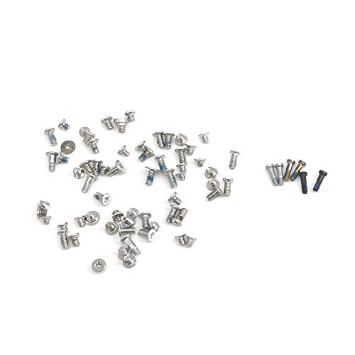 (E-REPAIR Full Screw Set Replacment with Bottom Pentalobe Screws for iPhone 6 4.7'' White/Black/Gold)
