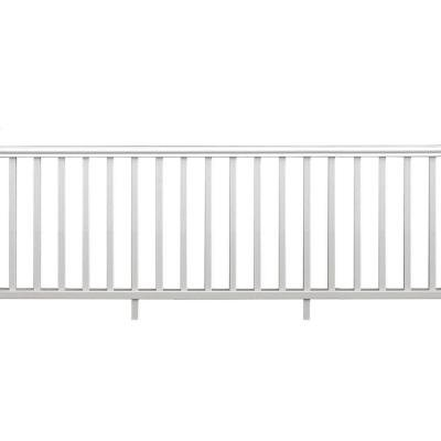 8 in. x 36 in. x 94 in. Traditional Rail Kit without Brackets